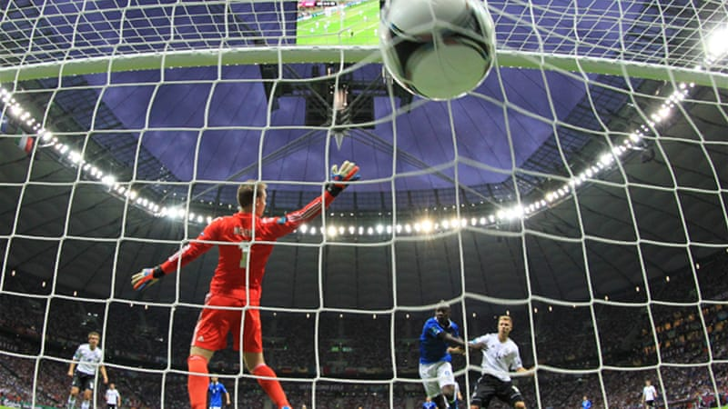 Coming of age: The Manchester City striker has enhanced his reputation with his performance at Euro 2012 [EPA]