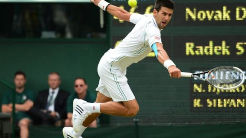 Djokovic lost the first set but rallied back against Radek Stephanek [AFP]