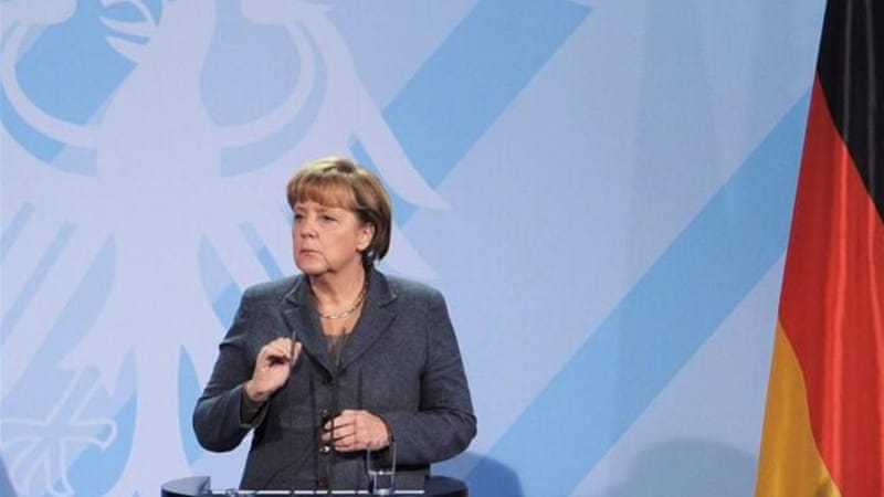 German Chancellor Angela Merkel dashed any hopes of striking a final agreement on Greece's rescue package [EPA]