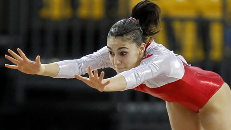 'All you need is faith' says Turkey's first Olympic gymnast Goksu Uctas as she joins an elite band of wrestlers and weightlifters who have previously dominated Turkey's medal hopes [Reuters]