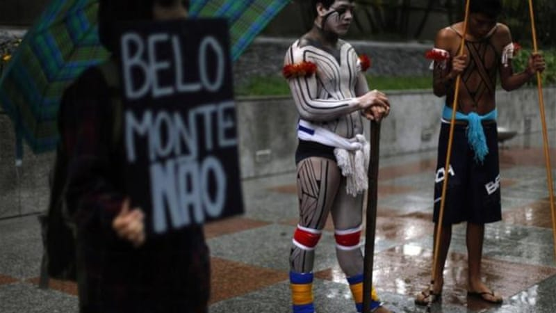 Following an outcry from indigenous communities that would be affected by the Belo Monte dam, the IACHR ordered the Brazilian government to halt the project  [Reuters]