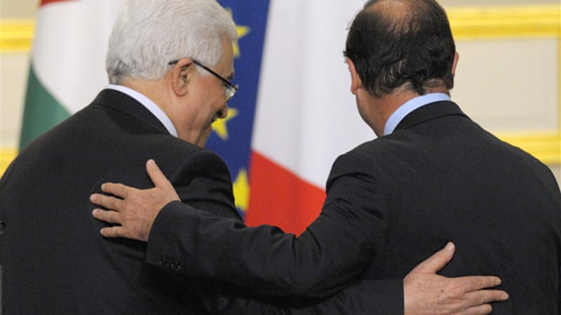 Abbas did not specify when the Palestinians might take their bid to the General Assembly [Reuters]