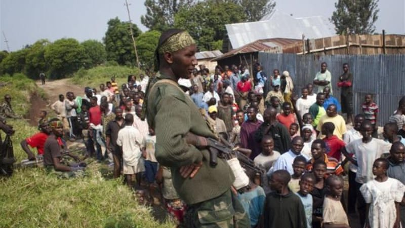 A rebel group called M23 has won a series of victories in the eastern DRC in recent weeks [AFP]