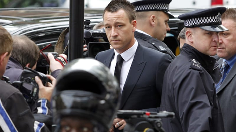 John Terry: Acquitted of racism charges but still facing investigation from the FA [GALLO/GETTY]