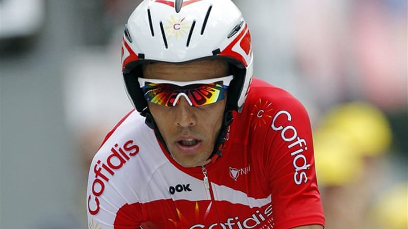 Di Gregorio was suspended by his team Cofidis after the allegations became public [Reuters]