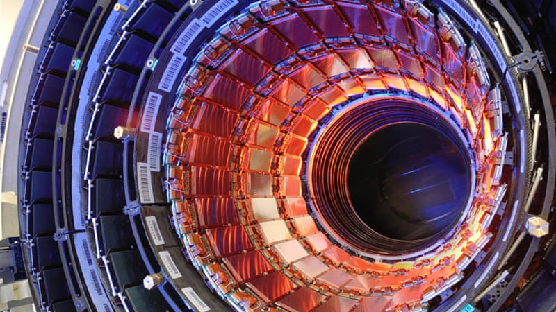 The $10bn Large Hadron Collider is the most complex and profound machine ever built [CERN/CMS Collaboration]