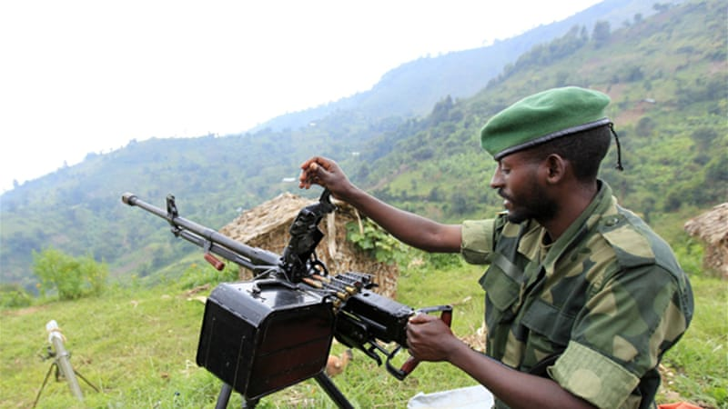 Rwanda has strongly denied backing M23 rebels who launched a rebellion in the east of the country in April [Reuters]