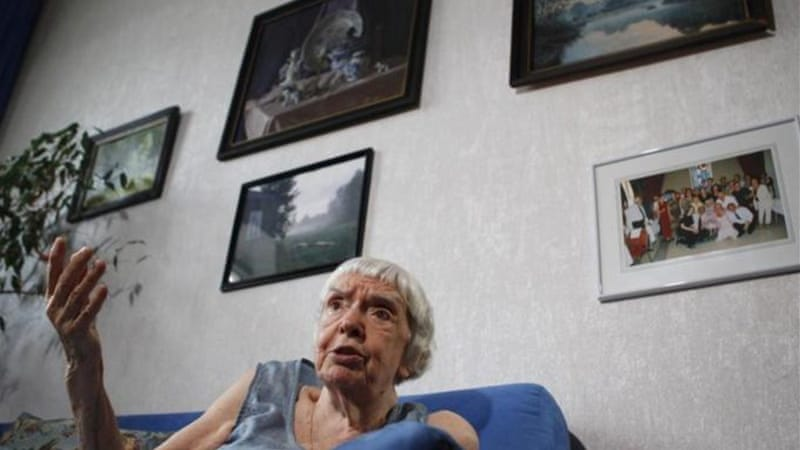 Lyudmila Alexeyeva is one of the few Soviet-era dissidents still active in Russia  [Reuters]