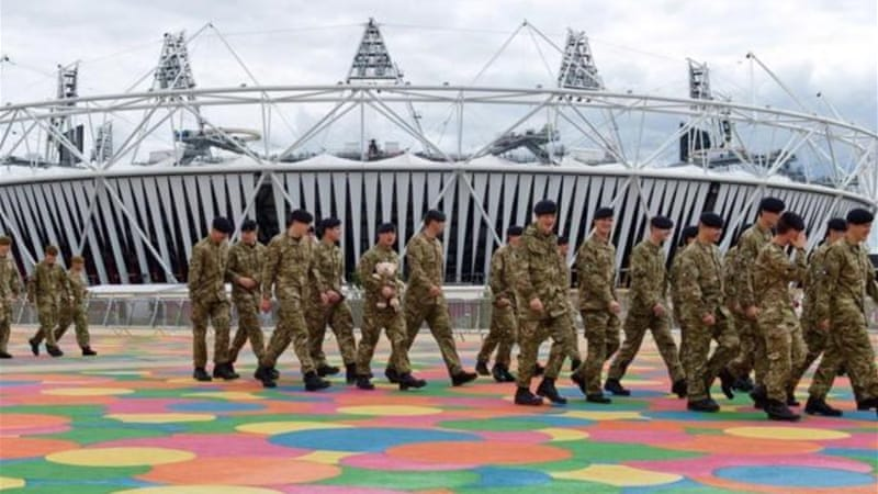 Profit and security at the London Olympics