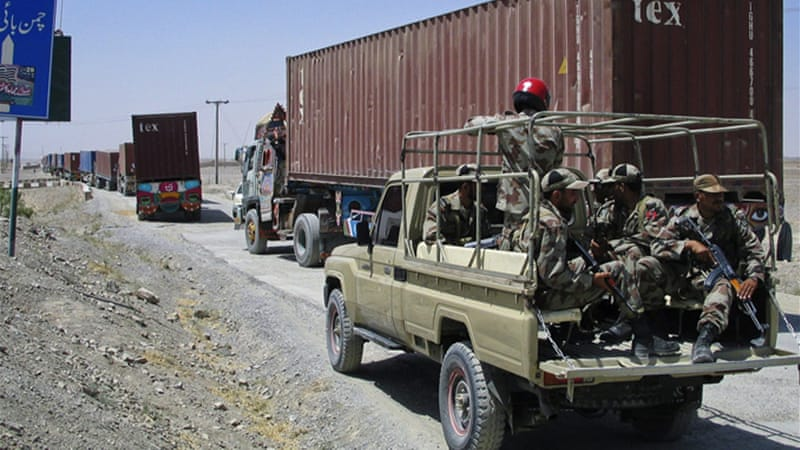 Pakistan and the US reached a deal to reopen land routes that NATO uses to supply its troops [Reuters]