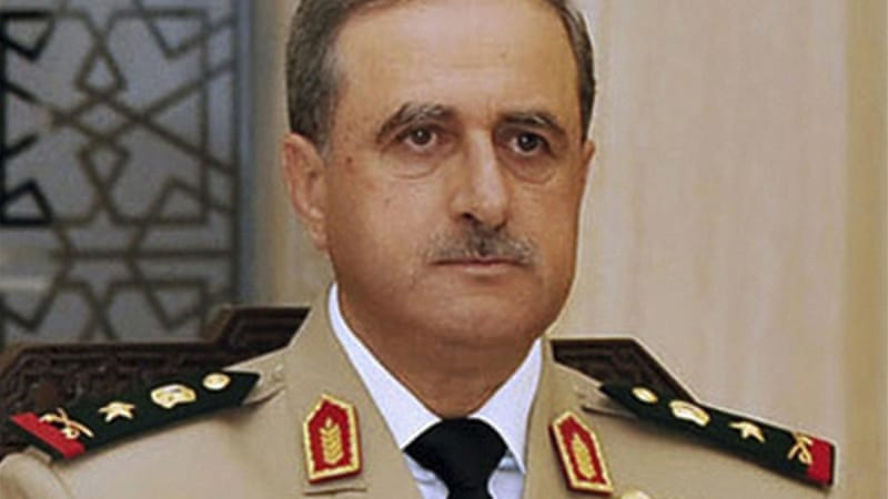 Daoud Rajha, defence minister, was the most senior Christian official in the Syrian government [Reuters]