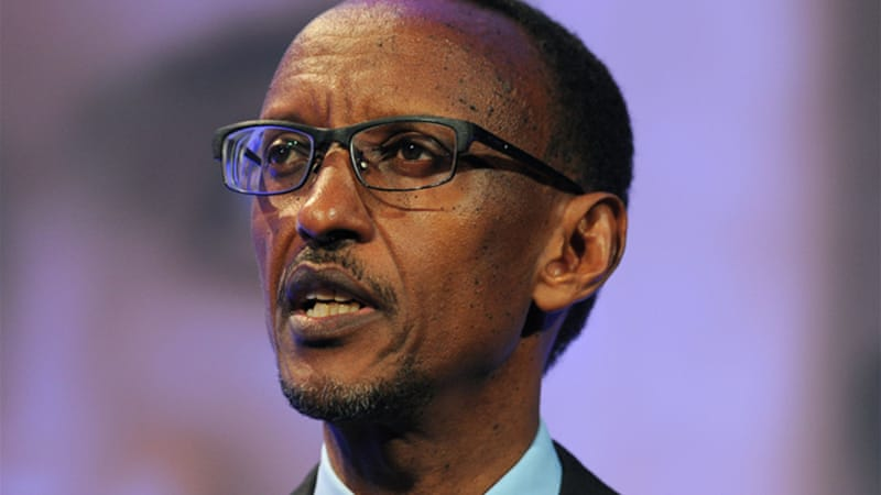 Paul Kagame came to power in 1994 when the Rwandan Patriotic Front captured the capital, Kigali [Getty Images]