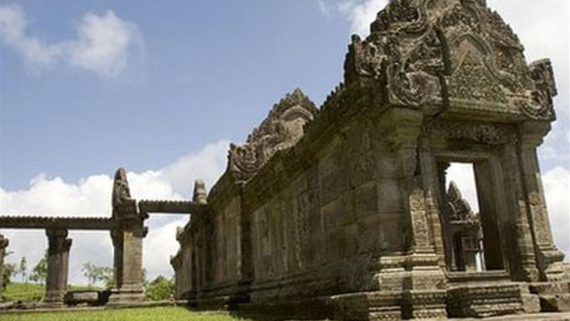 The dispute over land near the Preah Vihear temple has often caused clashes between Cambodia and Thailand  [AP]