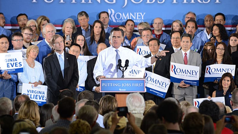 Mitt Romney has made little effort to personally define himself in the US presidential campaign, say analysts [EPA]