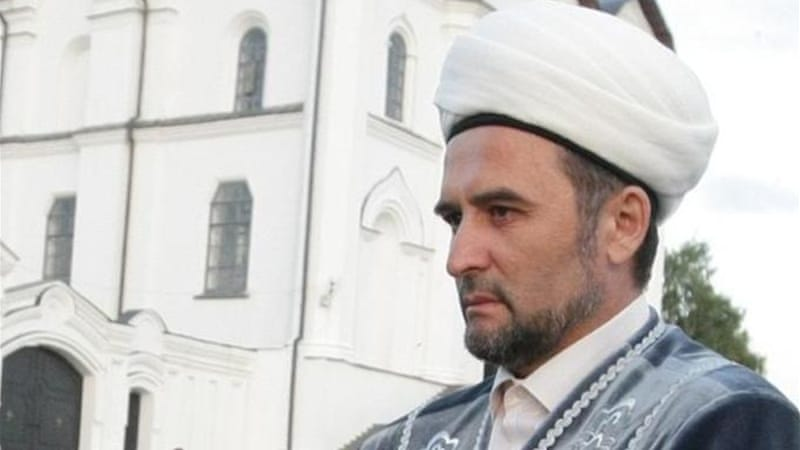 Mufti Ildus Faizov is known for his criticism of radical Islamic groups operating in the North Caucasus [AFP]
