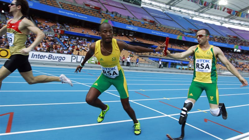 The four-time Paralympic champion reached the 400 metres individual competition despite failing to register the A standard qualifying because he was selected for the country's 4x400 relay team [EPA]