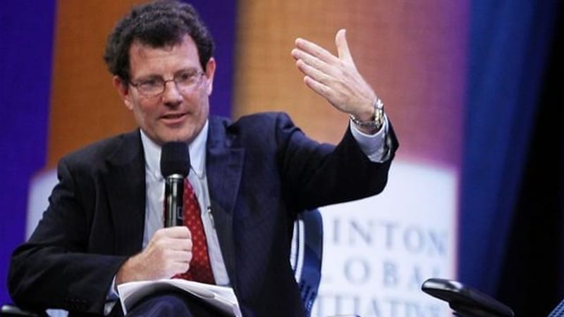Kristof's writings 'reveal everything about the intellectual bankruptcy of the empire' [GALLO/GETTY]