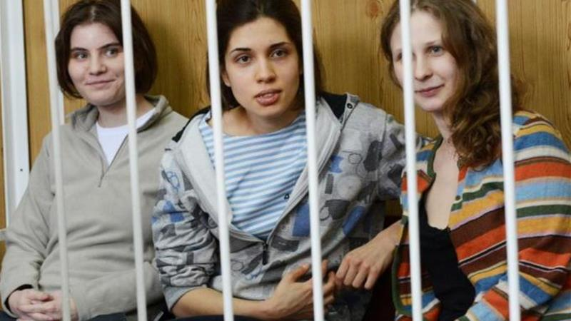 Russia jails Pussy Riot punk rockers