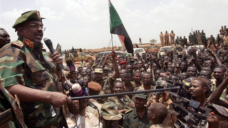 Al-Bashir's government reportedly spends more than 70 per cent of its budget on Sudan's military [AP]