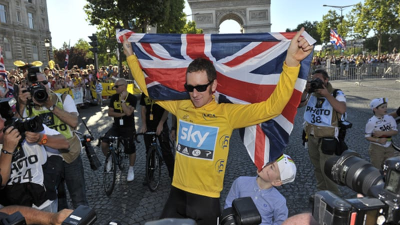 Wiggins was unable to defend his 2012 Tour title due to injury, with team mate Chris Froome winning [EPA]