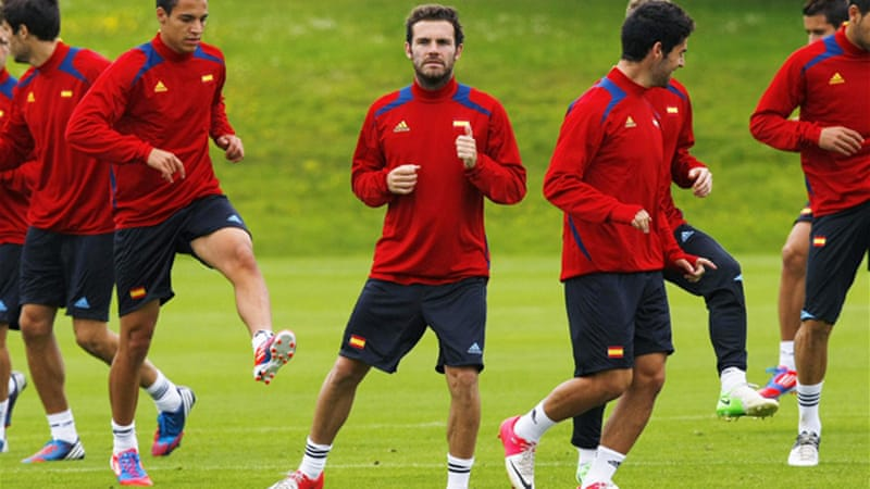 Spain open their Olympic campaign against Japan on Thursday as Glasgow's Hampden Park [Reuters]