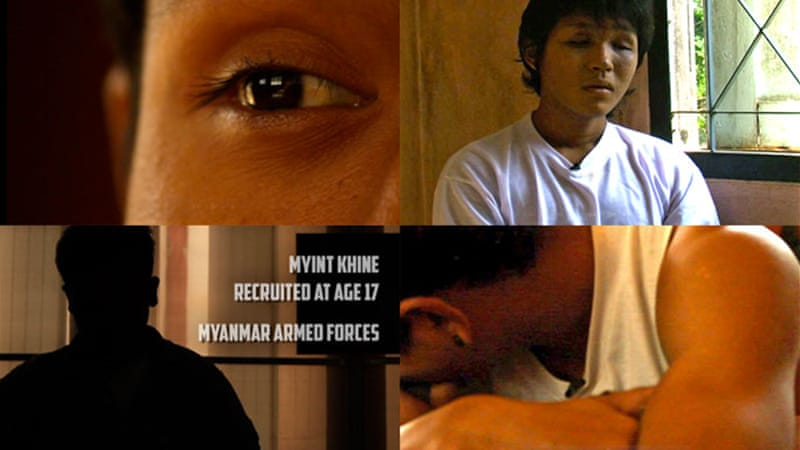 Myanmar's former child soldiers speak out