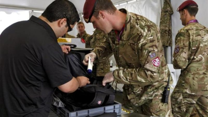 Extra British troops have been drafted in to ensure the Olympics are as safe as possible [EPA]