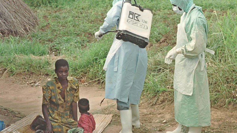 An Ebola outbreak killed 224 people in Uganda in 2000 [File: GALLO/GETTY]