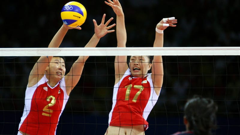 The coach of China's women's volleyball team has blamed a lack of meat in his team's diet for their string of poor performances [GETTY]