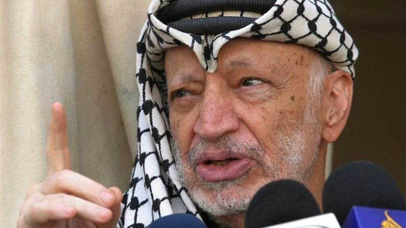 Arafat died in a military hospital in France in November 2004 [EPA]