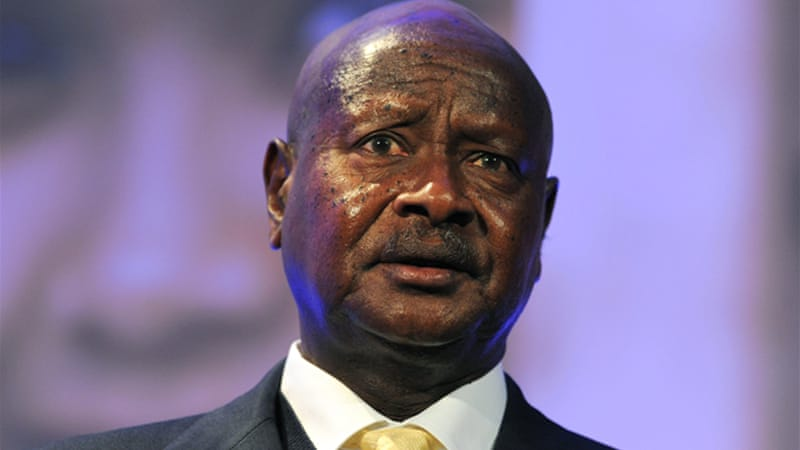 President Museveni, in office since 1986, is one of the longest serving heads of state in Africa  [GALLO/GETTY]