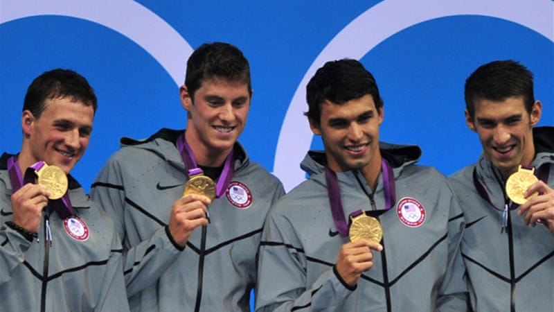 Phelps won silver in the 200m butterfly and capped off the night by winning gold in the 4x200 freestyle relay to secure his place in history [EPA]