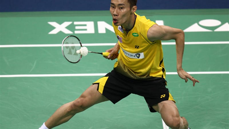 Lee Chong Wei was the favourite for the men's singles until an ankle injury in the Thomas Cup five weeks cast doubt on his Olympic ambitions [EPA]