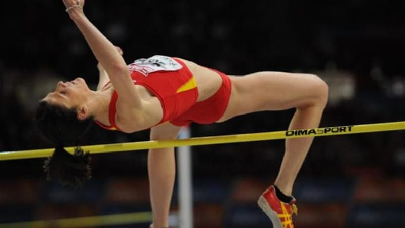 Beitia won gold at 2012 European Championships but will likely have to jump higher to win in London [AFP]