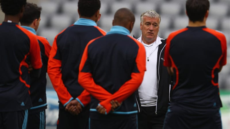 Deschamps is set to replace Blanc who stepped down from Les Bleus after their Euro 2012 quarter-final exit to eventual winners Spain [GALLO/GETTY]