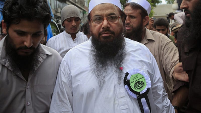 Hafiz Saeed, the founder of Lashkar-e-Taiba, is a member of the Defence of Pakistan Council [Reuters]