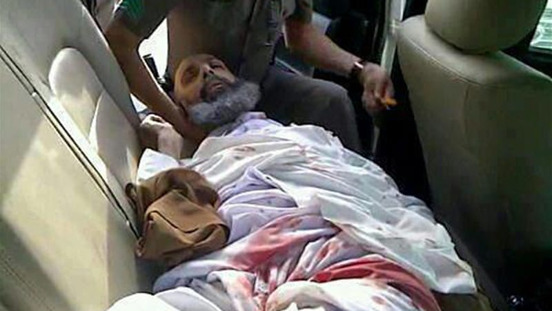 Nimr al-Nimr, a prominent Shia cleric and anti-government activist, was injured and arrested on July 8 [File picture]