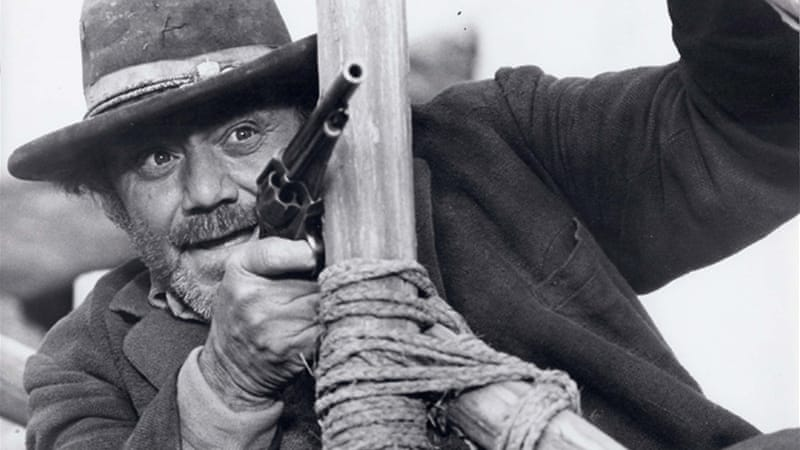 "Borgnine's looks made him a natural for tough-guy roles like this one in ""Hannie Caulder"""