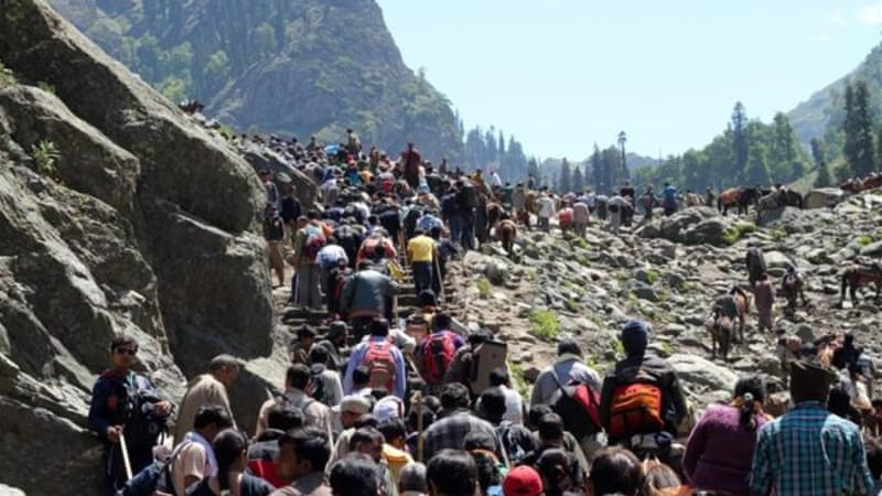 While praise is heaped on tourism, its actual contribution to Kashmir's economy is unknown [Showkat Shafi/Al Jazeera]