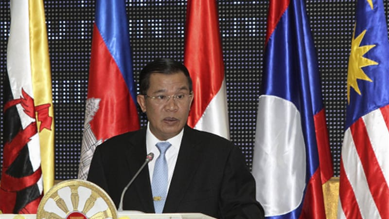 Kingdom of Cambodia holds rotating chairmanship of the Southeast Asian regional bloc [Reuters]
