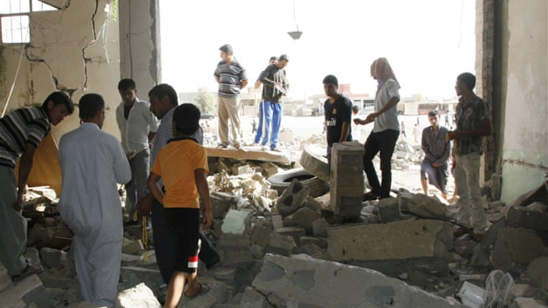 Friday's attack in Mosul targeted worshippers at a mosque belonging to the Shabak minority [Reuters]