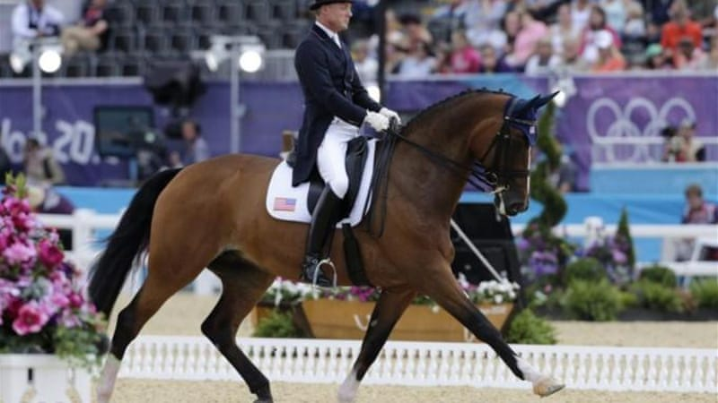 Mitt Romney is a part owner of Rafalca, a horse that competed in dressage at this year's Olympic Games [EPA]