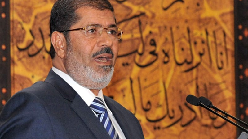 Morsi's opponents have accused him of seeking to muzzle the press [AFP]
