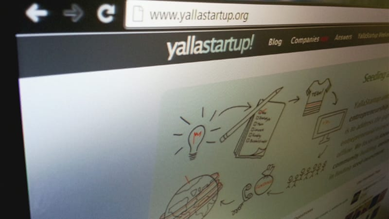 According to YallaStartup!, 61 companies - most being tech startups - are located in Jordan  [Al Jazeera/Hashem Said]
