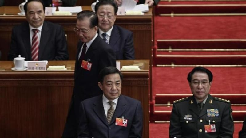 The Communist party has been rocked by a scandal involving former high-flying politician Bo Xilai [Reuters]