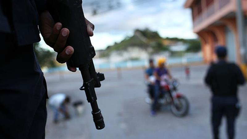 Honduras has the highest rate of intentional homicide in the world [Getty Images]