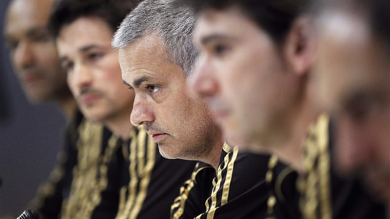 Up for stakes is 'world football hegemony', according to Real Madrid coach Jose Mourinho [EPA]