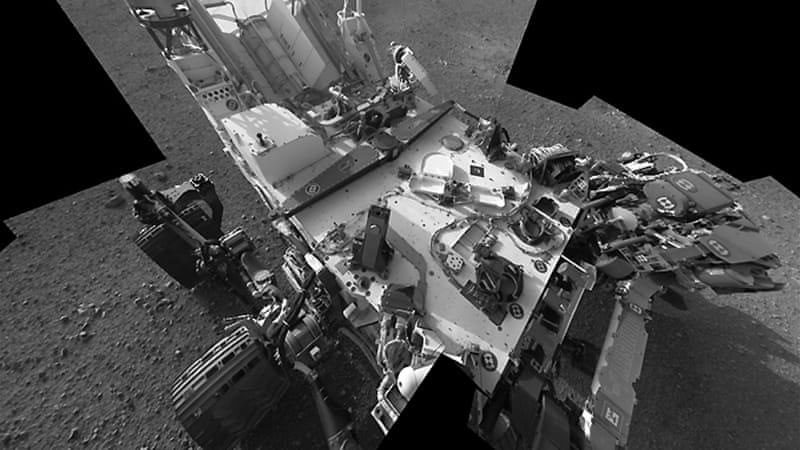 NASA rover aims laser ray at Mars rocks   News   Al Jazeera