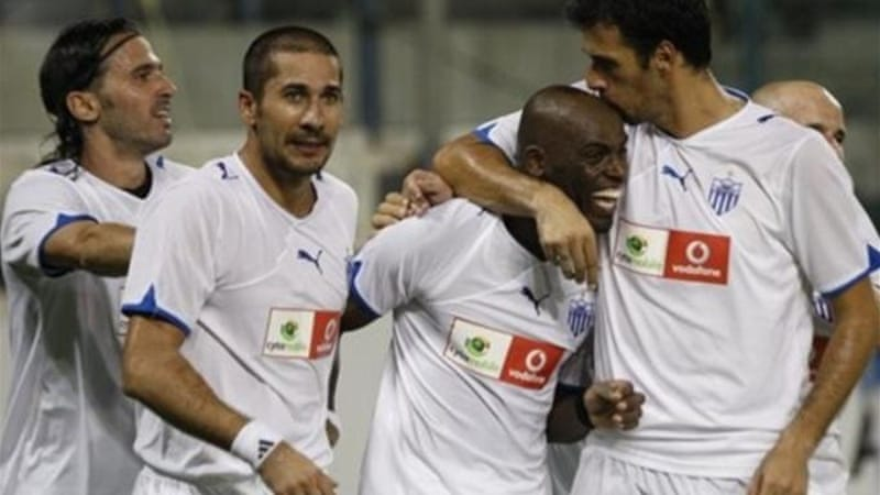 Anorthosis were the first Cypriot team to qualify for the Champions League group stage in 2009 [AP]