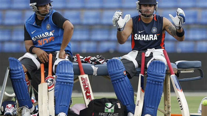 Suresh Raina, left, is likely to join a squad fresh from losing eight successive overseas Tests [Reuters]